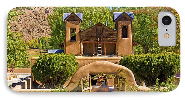 El Santuario De Chimayo IPhone Case by Bill Barber