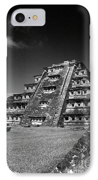 El Tajin Pyramid Veracruz Mexico IPhone Case by John  Mitchell