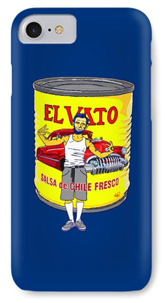 El Vato - Abe IPhone Case by Armando Padilla