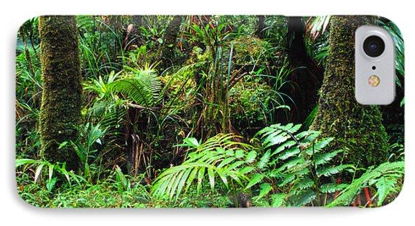 El Yunque Lush Vegetation Phone Case by Thomas R Fletcher