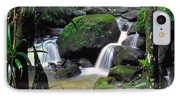 El Yunque National Forest Waterfall Phone Case by Thomas R Fletcher