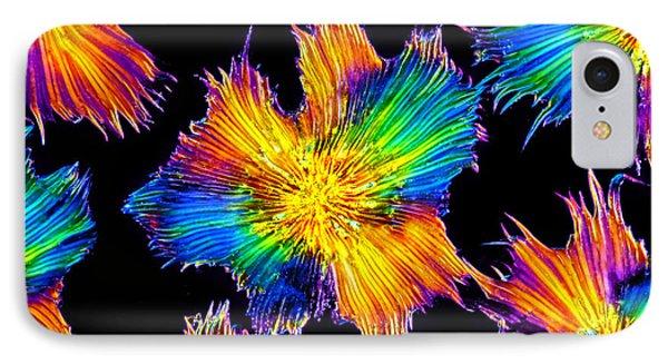 Elaeagnus Leaf Hairs, Microscope IPhone Case by M. I. Walker
