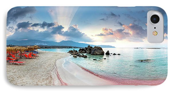 Elafonissi Beach Phone Case by Evgeni Dinev