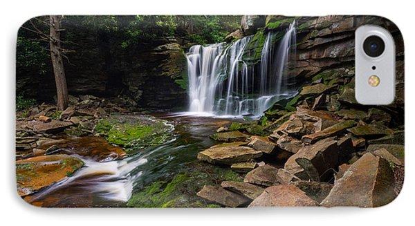 Elakala Falls On Shays Run Blackwater Falls State Park IPhone Case by Rick Dunnuck
