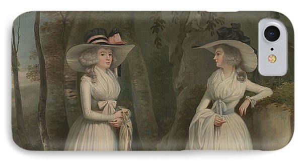 Eleanor And Margaret Ross IPhone Case by Alexander Nasmyth