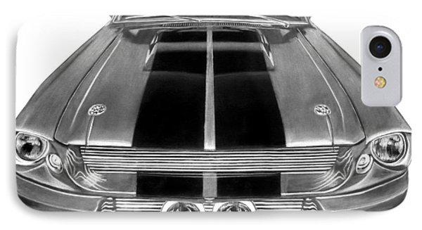 Eleanor Ford Mustang Phone Case by Peter Piatt