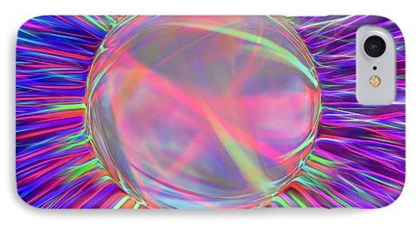 Electric Ball - Kooosh Ball IPhone Case by Steve Ohlsen