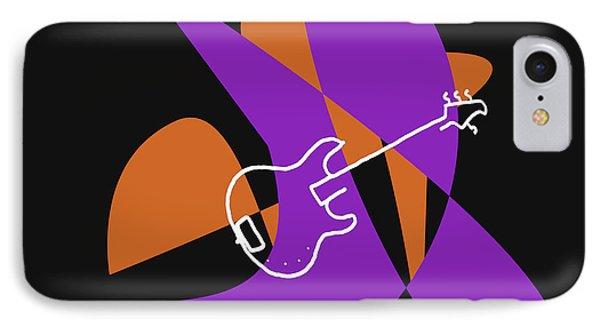 Electric Bass In Purple IPhone Case