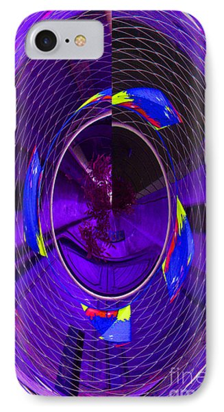 IPhone 7 Case featuring the photograph Electric Blue by Nareeta Martin