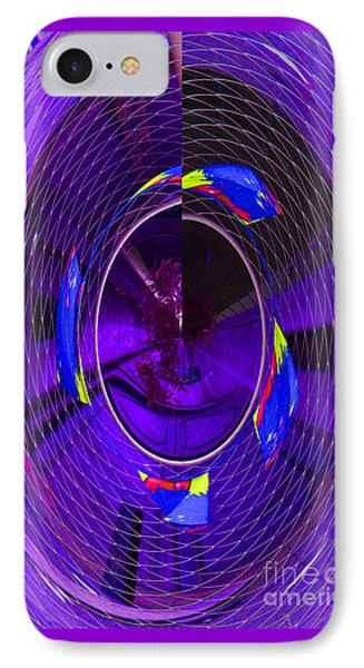 Electric Blue IPhone Case by Nareeta Martin