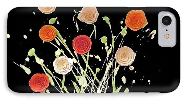 Electric Bouquet IPhone Case