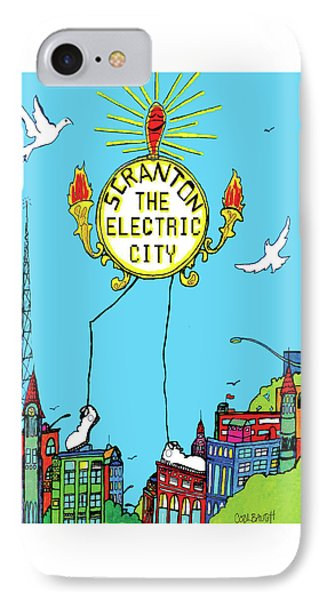 Electric City  IPhone Case