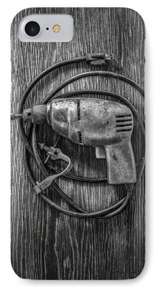 Electric Drill Motor IPhone Case by YoPedro