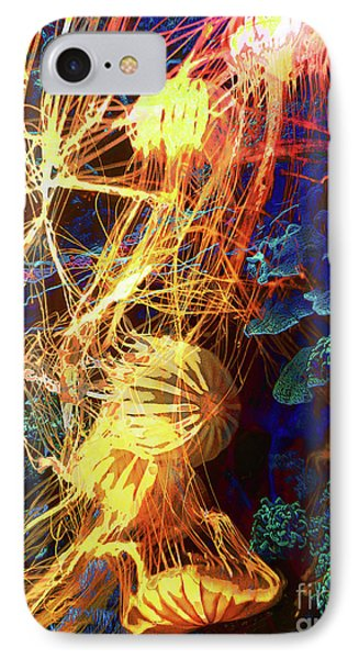 Electric Jellies Phone Case by Robert Ball
