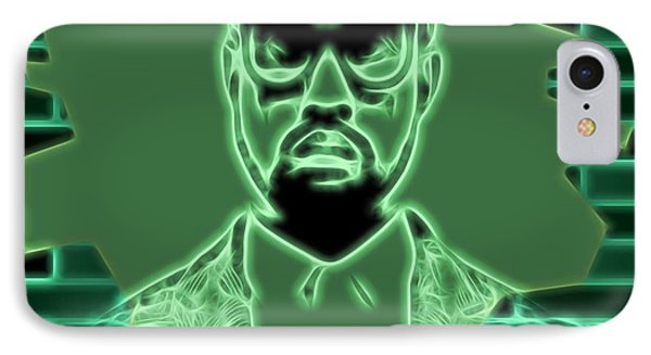 Electric Kanye West Graphic IPhone 7 Case by Dan Sproul