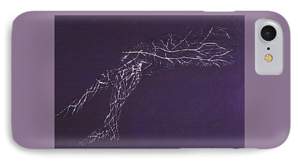 Electric Legs IPhone Case by Contemporary Michael Angelo