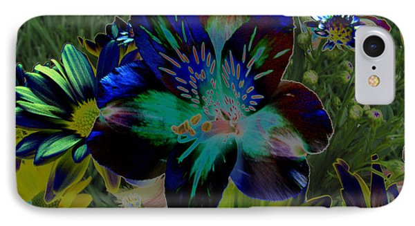 IPhone Case featuring the photograph Electric Lily by Greg Patzer
