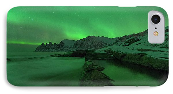 IPhone Case featuring the photograph Electric Night by Alex Lapidus