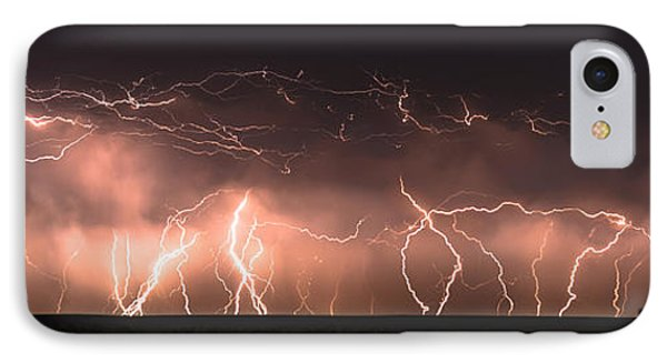 Electric Panoramic Iv IPhone Case