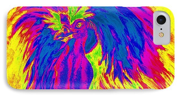 Electric Polish Hen IPhone Case by Summer Celeste