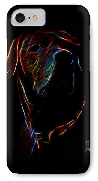 Electric Ridgeback IPhone Case by Mim White