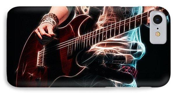 Electric Rock IPhone Case by Cameron Wood