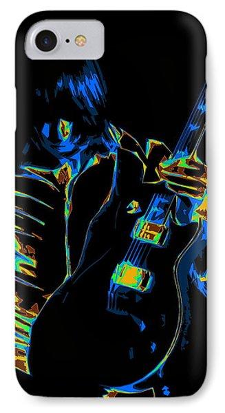 Electric Scholz IPhone Case by Ben Upham III