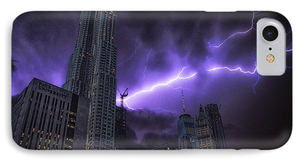 Electric Storm IPhone Case by Martin Newman