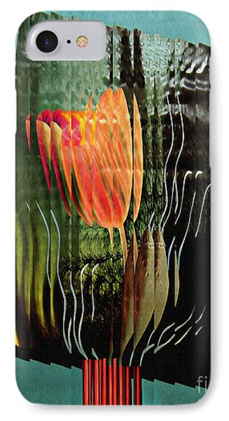 Electric Tulip 2 Phone Case by Sarah Loft