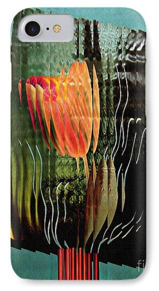 Electric Tulip 2 IPhone Case by Sarah Loft