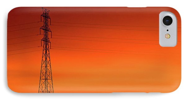 Electrical Morn IPhone Case by Todd Klassy