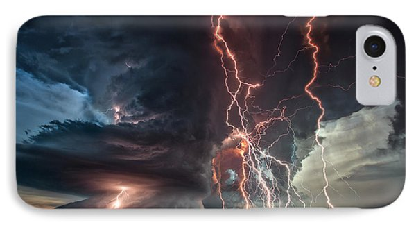 Electrical Storm IPhone Case by James Menzies