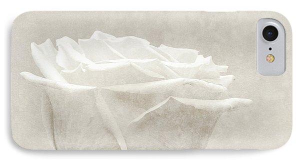 Elegance In White Phone Case by Wim Lanclus