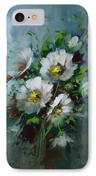 Elegant Blossoms Phone Case by David Jansen