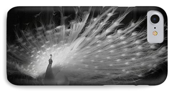 IPhone Case featuring the photograph Elegant In White by Margaret Bobb