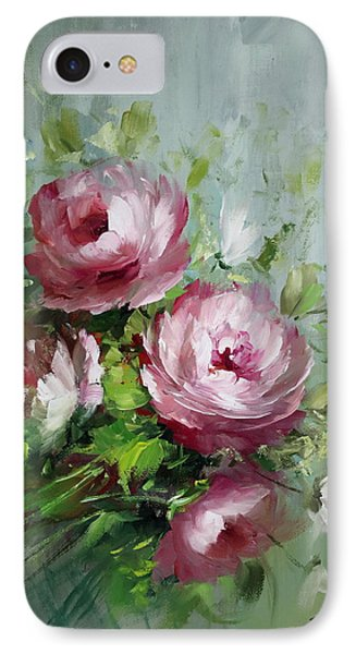Elegant Roses Phone Case by David Jansen