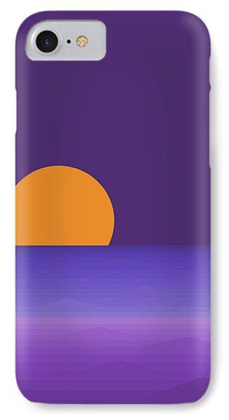 Elements - Lavender Sea - Purple IPhone Case