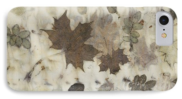 Elements Of Autumn IPhone Case by Carolyn Doe