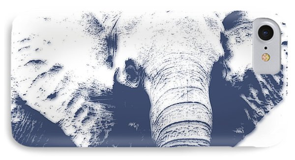 Elephant 4 IPhone Case by Joe Hamilton