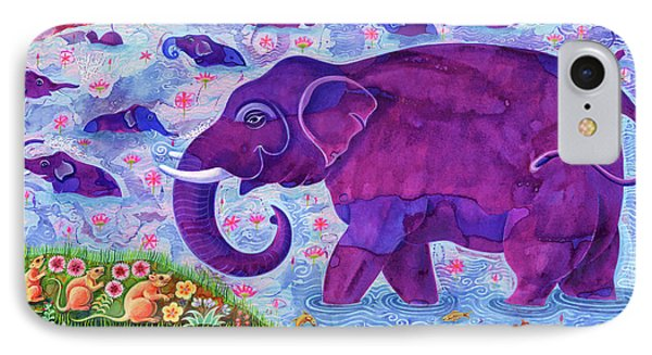 Elephant And Mice IPhone Case