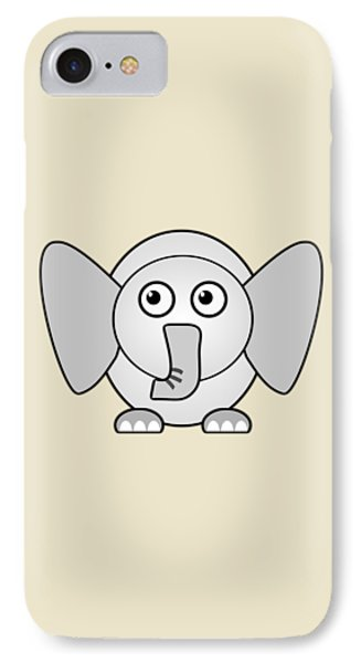 Elephant - Animals - Art For Kids IPhone 7 Case by Anastasiya Malakhova