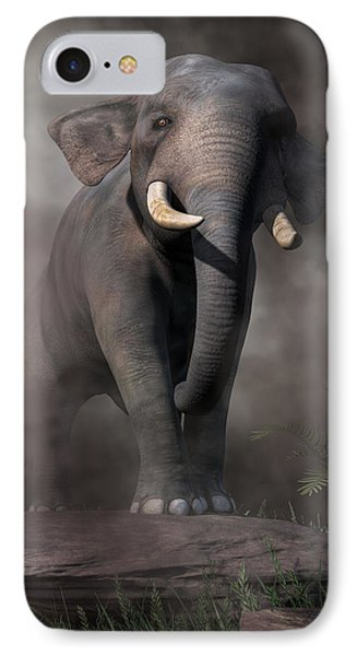 Elephant IPhone Case by Daniel Eskridge