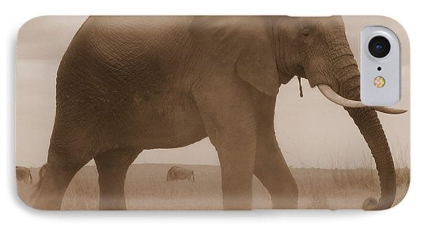 Elephant Dust IPhone Case