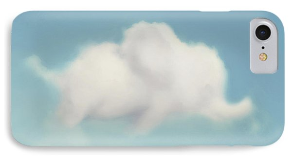 IPhone Case featuring the photograph Elephant In The Sky - Square Format by Amy Tyler