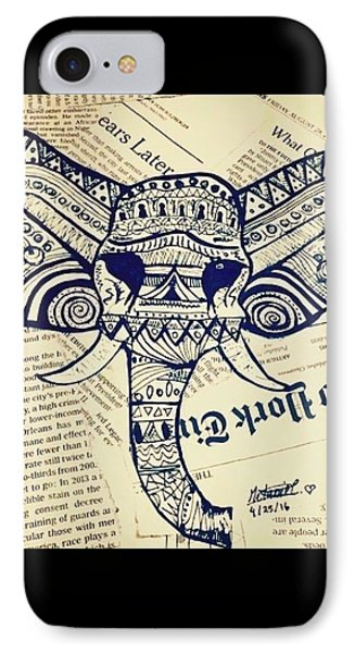 Elephant Parade  IPhone Case