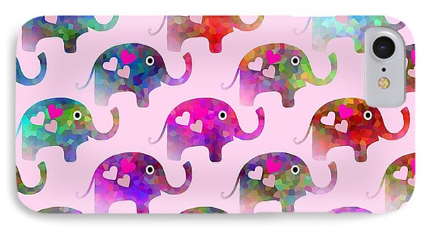 Elephant Party IPhone Case