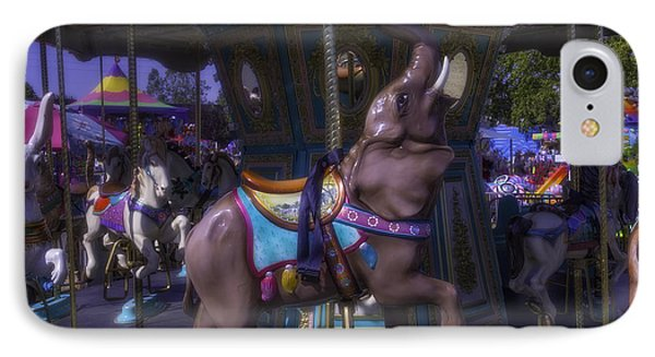 Elephant Ride At The Fair IPhone Case by Garry Gay