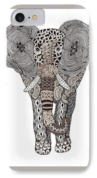 Elephant IPhone Case by Sharon White