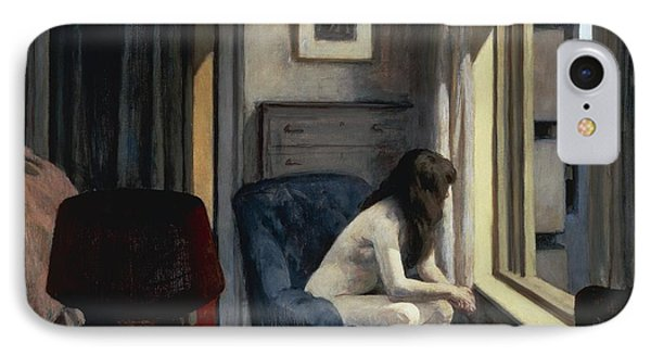Eleven Am IPhone Case by Edward Hopper