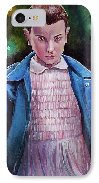 Eleven IPhone Case by Tom Carlton